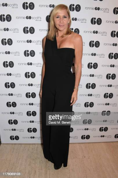 Tania Bryer attends A Night At Ronnie Scotts 60th Anniversary Gala at the Royal Albert Hall on October 30 2019 in London England