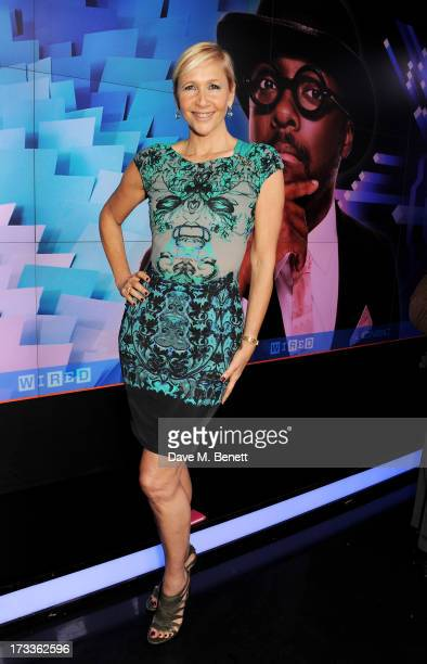 Tania Bryer attends a party hosted by will.i.am and David Rowan to celebrate their co-curation of the August issue of WIRED and preview Tania Bryer's...