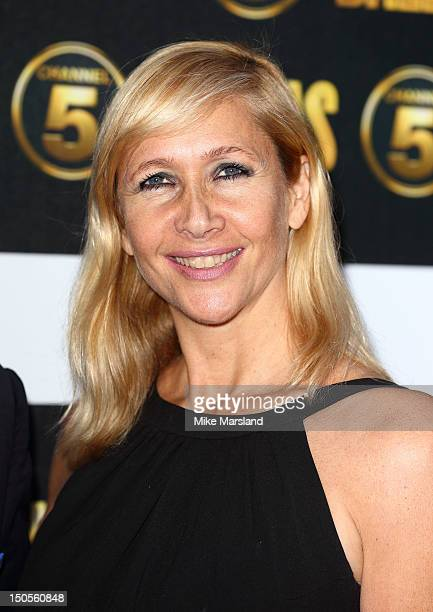 Tania Bryer attends party to celebrate the new Channel 5 television series of 'Dallas' at Old Billingsgate on August 21 2012 in London United Kingdom