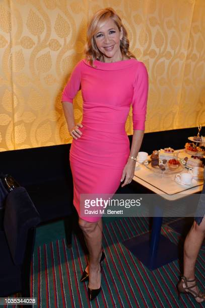 Tania Bryer attends the World's Biggest Coffee Morning hosted by Elizabeth Hurley in support of Macmillan Cancer Support at Isabel on September 18...