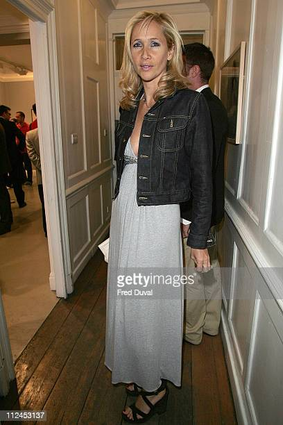 Tania Bryer during Robert Mapplethorpe Exhibition Private View Outside Arrivals at Alison Jacques Gallery in London Great Britain