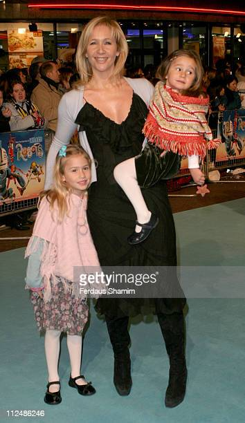Tania Bryer during 'Robots' London Premiere Outside Arrivals at Vue Leicester Square in London Great Britain