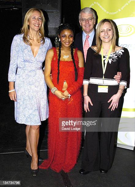 Tania Bryer John Major Lhamea Lall and Amy Marriot