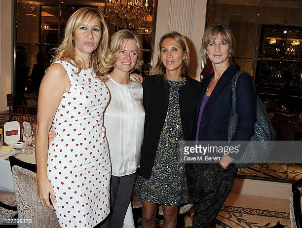 Tania Bryer Ruth Kennedy guest and Nicola Formby attend Tatler's 'The Great Girls Lunch' to benefit Cancer Research UK at The Gallery at The Westbury...
