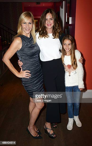 Tania Bryer Trinny Woodall and her daughter Lyla Elichaoff attend the Screening Gala of Ricki and The Flash at Ham Yard Hotel on September 3 2015 in...