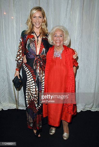 Tania Bryer with her mother Joy during The BFI London Film Festival The Last King of Scotland Opening Gala After Party in London Great Britain