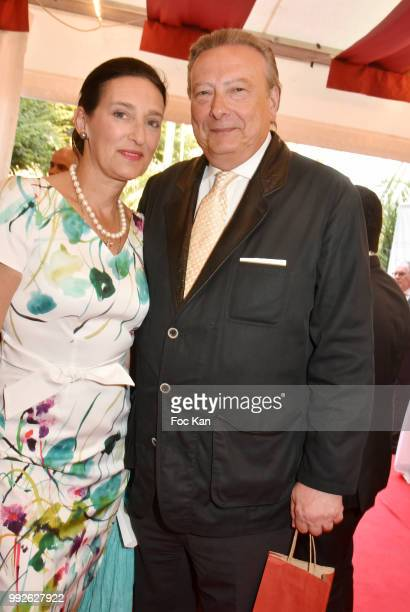 Tania de Bourbon Parme and LouisArnaud L'Herbier Attend 'La Femme Dans Le Siecle' Dinner on July 5 2018 in Paris France