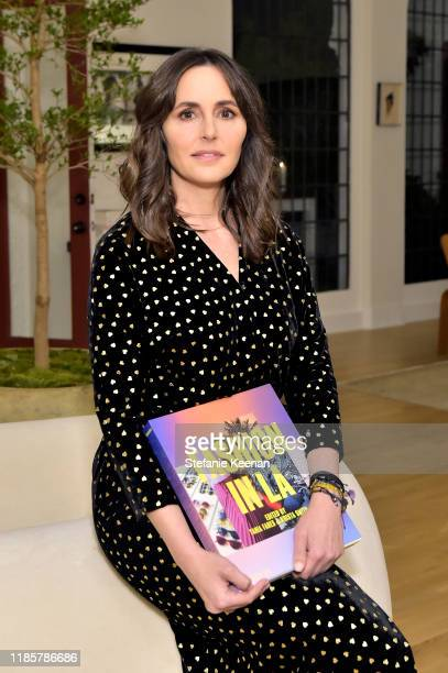 Tania Fares attends Fashion In La Book Launch Celebration at Private Residence on November 05 2019 in Beverly Hills California