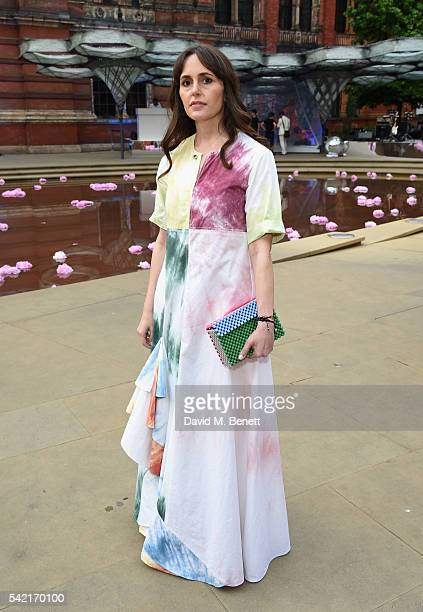 Tania Fares attends the 2016 VA Summer Party In Partnership with Harrods at The VA on June 22 2016 in London England