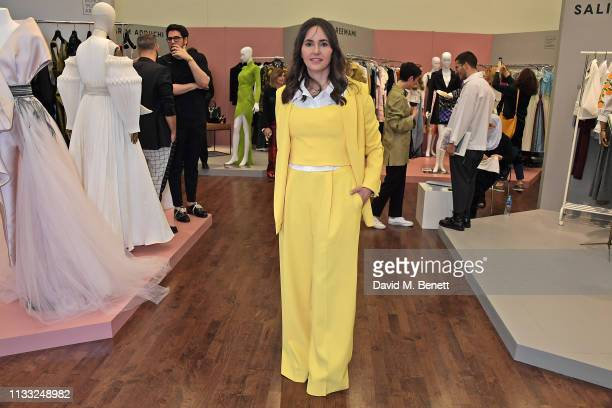 Tania Fares attends the Fashion Trust Arabia Prize Judging Day on March 28, 2019 in Doha, Qatar.