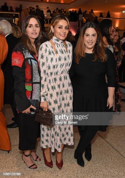 Tania Fares Narmina Marandi and Mary Katrantzou attend Luxury Cave Curation of the finest at The Design Museum on February 7 2019 in London England