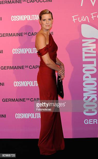 Tania Llasera arrives to the 'Fun Fearless Female Cosmopolitan Awards 2009' ceremony held at the Ritz Hotel on November 10 2009 in Madrid Spain