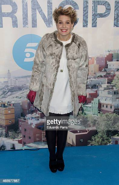 Tania Llasera attends 'El principe' premiere at Callao cinema on January 30 2014 in Madrid Spain