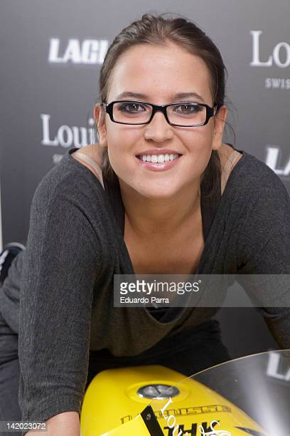Tania Llasera attends Team LaGlisse new official watch presentation photocall at Blablabla bar on March 28 2012 in Madrid Spain