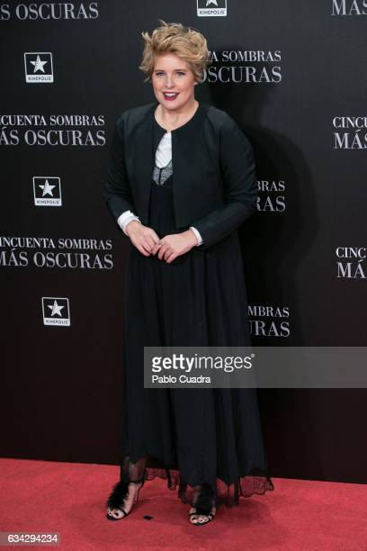 Tania Llasera attends the 'Fifty Shades Darker' premiere at Kinepolis Cinema on February 8 2017 in Madrid Spain