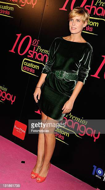 Tania Llasera attends the 'Shangay Awards' 2010 at the Coliseum Theatre on November 30 2010 in Madrid Spain