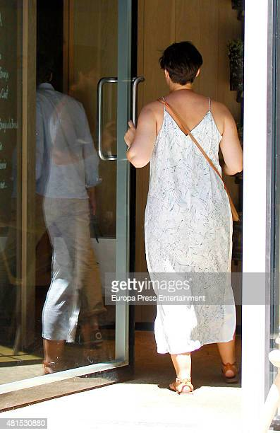 Tania Llasera is seen on July 15 2015 in Madrid Spain