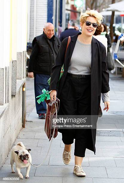 Tania Llasera is seen on March 12 2015 in Madrid Spain