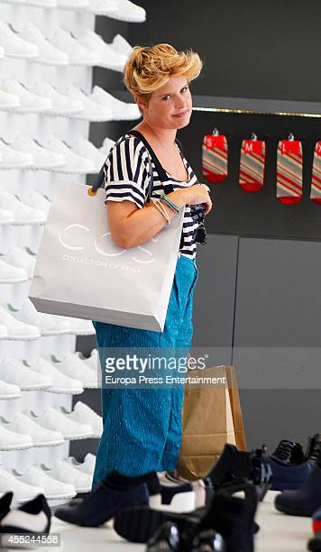 Tania Llasera is seen on September 10 2014 in Madrid Spain