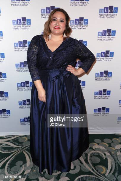 Tania Saracho attends the 22nd Annual National Hispanic Media Coalition Impact Awards Gala at Regent Beverly Wilshire Hotel on February 22 2019 in...