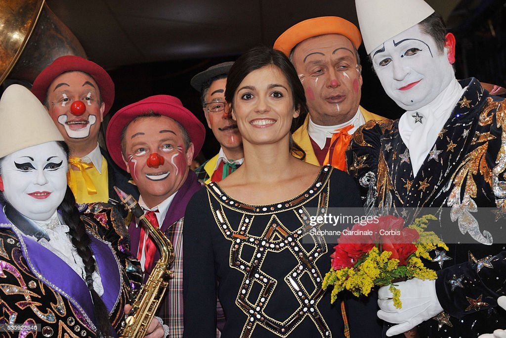 Tania Young attends the official Award Gala evening of the 35th Monte Carlo International Circus Festival.
