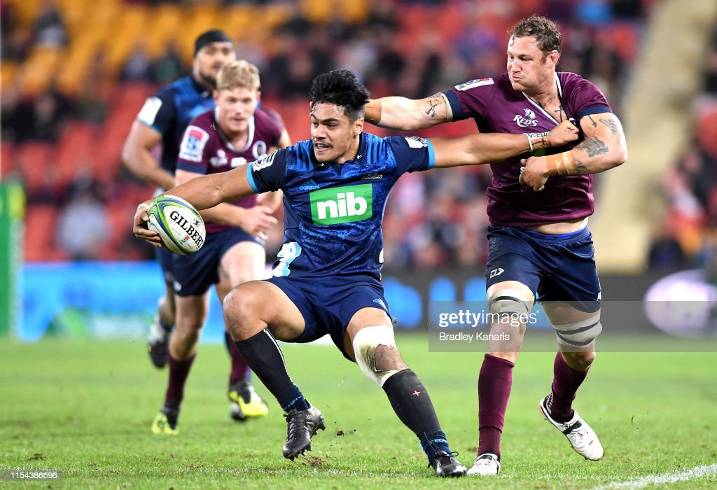 Super Rugby Rd 17 - Reds v Blues : News Photo