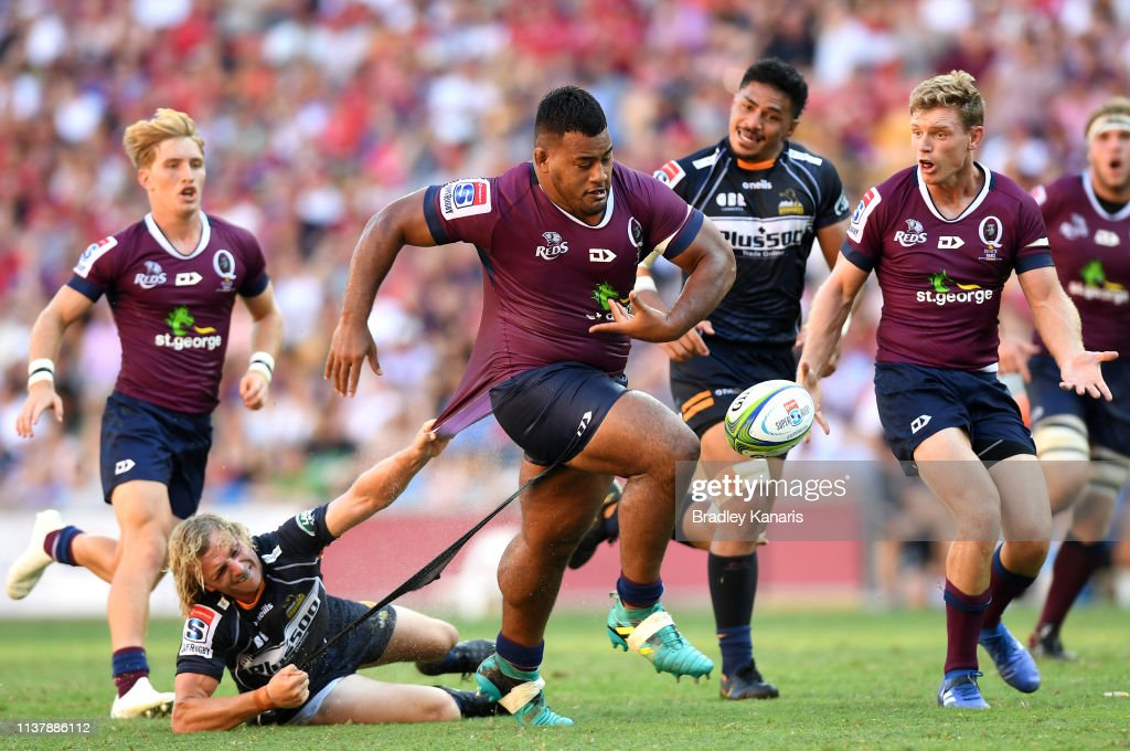Super Rugby Rd 6 - Reds v Brumbies : News Photo