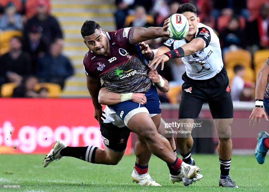Super Rugby Rd 19 - Reds v Sunwolves : News Photo