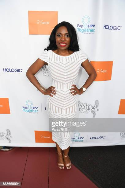 Tanika Gray Valbrun at 'The Immortal Life Of Henrietta Lacks' Viewing Panel Discussion with Renee Elise Goldsberry Dr Jessica Shepherd Dr Jackie...