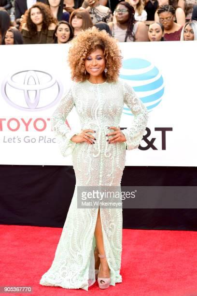 Tanika Ray attends the 49th NAACP Image Awards at Pasadena Civic Auditorium on January 15 2018 in Pasadena California