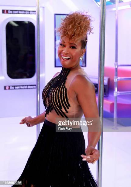 Tanika Ray attends the InstaCarpet during the BET Awards 2019 at Microsoft Theater on June 23 2019 in Los Angeles California
