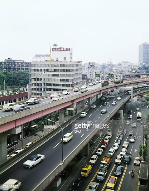 Tanimachi Interchange in Showa