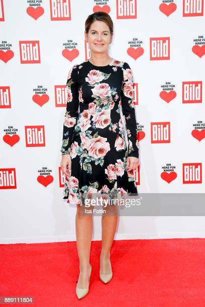 Tanit Koch chief editor Bild attends the 'Ein Herz fuer Kinder Gala' at Studio Berlin Adlershof on December 9 2017 in Berlin Germany