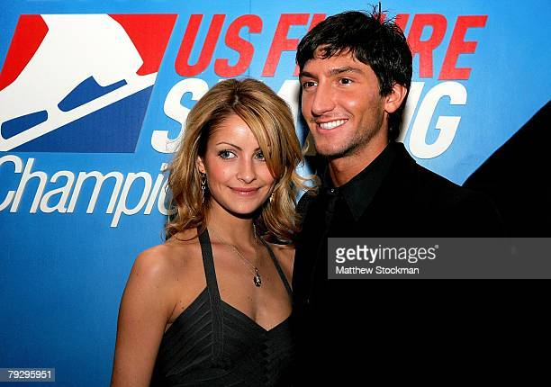 Tanith Belbin and Evan Lysacek attend a party sponsored by skating entrepenieur Tom Collins during the US Figure Skating Championships January 25,...