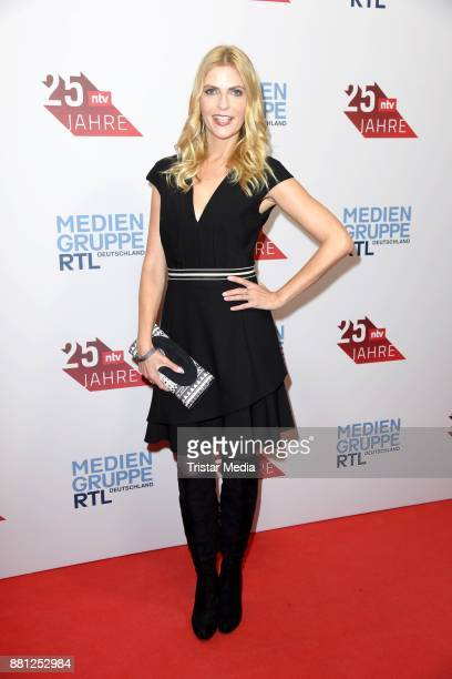 Tanja Buelter attends the 25 years anniversary ntv event at Bertelsmann Repraesentanz on November 28 2017 in Berlin Germany