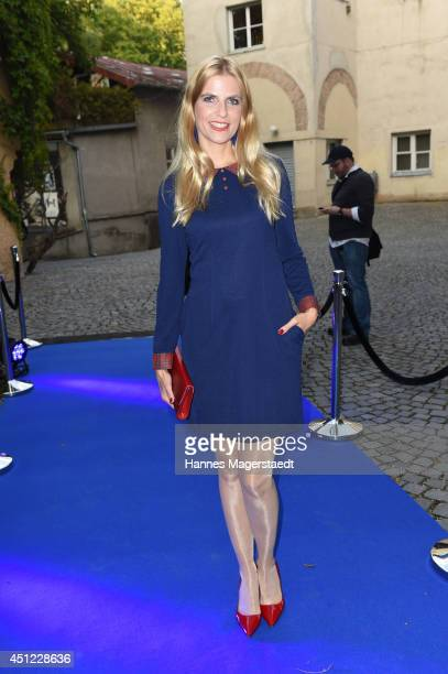 Tanja Buelter attends the 'All About Smiles Party' at Praterinsel on June 25 2014 in Munich Germany