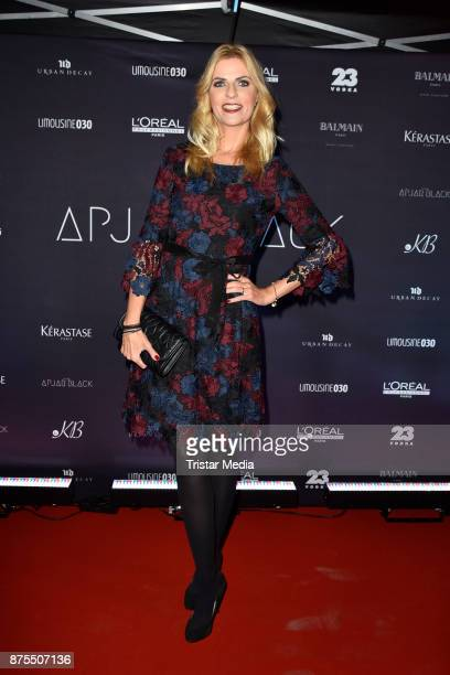 Tanja Buelter attends the Apjar Black studio opening on November 17 2017 in Berlin Germany