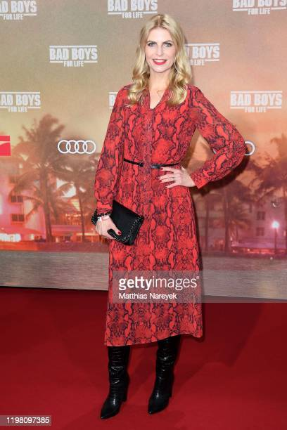 "Tanja Buelter attends the Berlin premiere of the movie ""Bad Boys For Life"" at Zoo Palast on January 07, 2020 in Berlin, Germany."