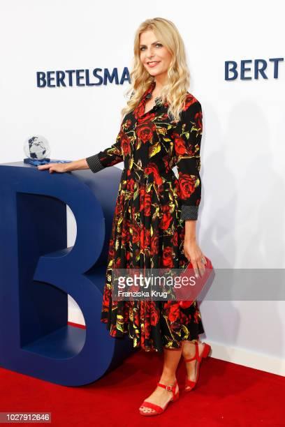 Tanja Buelter attends the Bertelsmann Summer Party at Bertelsmann Repraesentanz on September 6 2018 in Berlin Germany