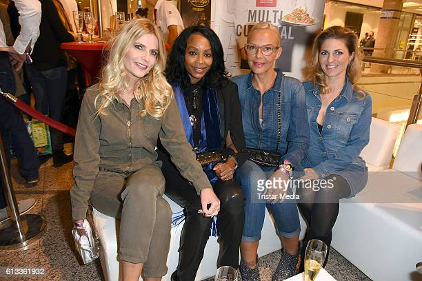 Tanja Buelter Rosalind Baffoe Natascha Ochsenknecht and Christine Deck attend the Late Night Shopping Party on October 7 2016 in Hamburg Germany