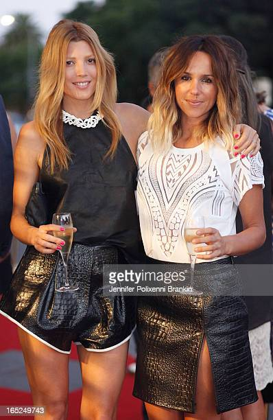 Tanja Gacic and Pip Edwards at the Australian Walk of Style event at the Intersection in Paddington on April 2 2013 in Sydney Australia