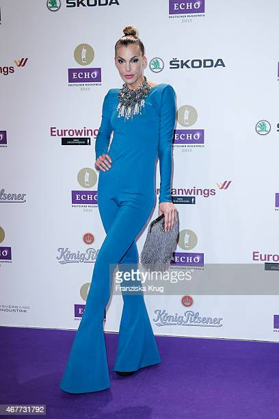 Tanja Lacroix attends the Echo Award 2015 on March 26 2015 in Berlin Germany