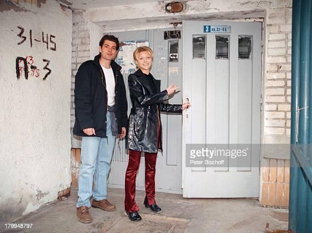 Tanja Szewczenko Daniel FehlowZDFFilm Weihnachten für einen Engel alter TitelKasachstanLady DrehMinsk/Weißrussland Stadtbummel