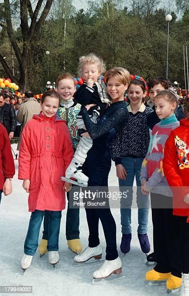 Tanja Szewczenko KinderZDFFilm Weihnachten für einen Engel alter TitelKasachstanLady DrehMinsk/Weißrussland Eislauf