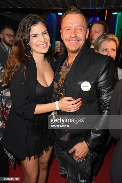 Tanja Tischewitsch and Willi Herren attend the 'Tivoli Cologne' Opening on March 27 2018 in Cologne Germany