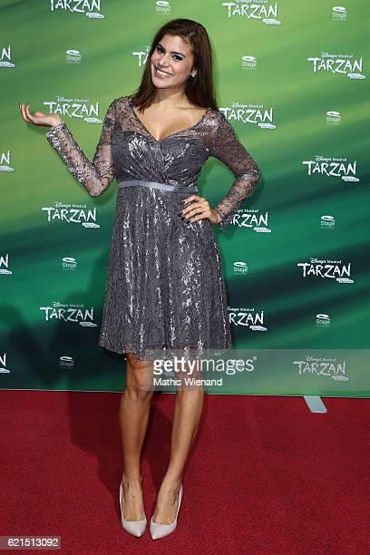 Tanja Tischewitsch attends 'Tarzan' Musical Premiere on November 6 2016 in Oberhausen Germany
