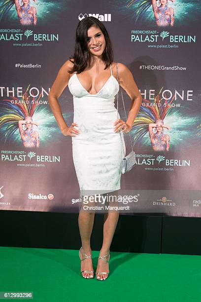 Tanja Tischewitsch attends the 'THE ONE Grand Show' World Premiere Dancers at FriedrichstadtPalast on October 6 2016 in Berlin Germany