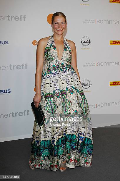 Tanja Wedhorn attends the ZDF summer reception on July 2 2012 in Berlin Germany