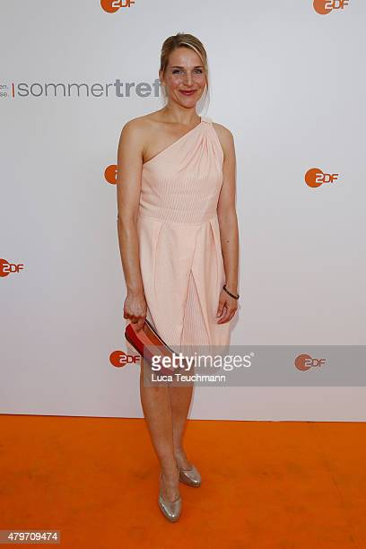 Tanja Wedhorn attends the ZDF summer reception on July 6 2015 in Berlin Germany