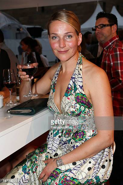 Tanja Wedhorn attends ZDF Summer Reception on July 2 2012 in Berlin Germany